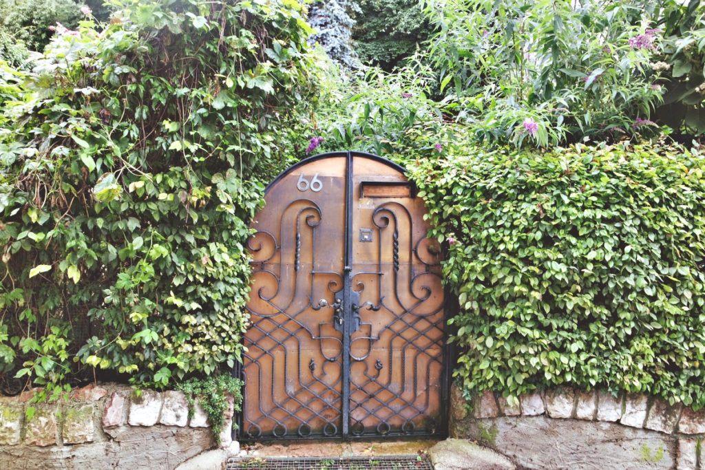 Ilyen szép kapuk vannak St. Wolfgangban