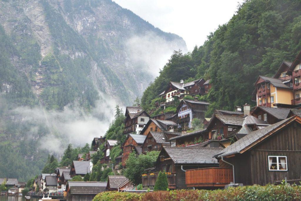 Hallstatt hegyek