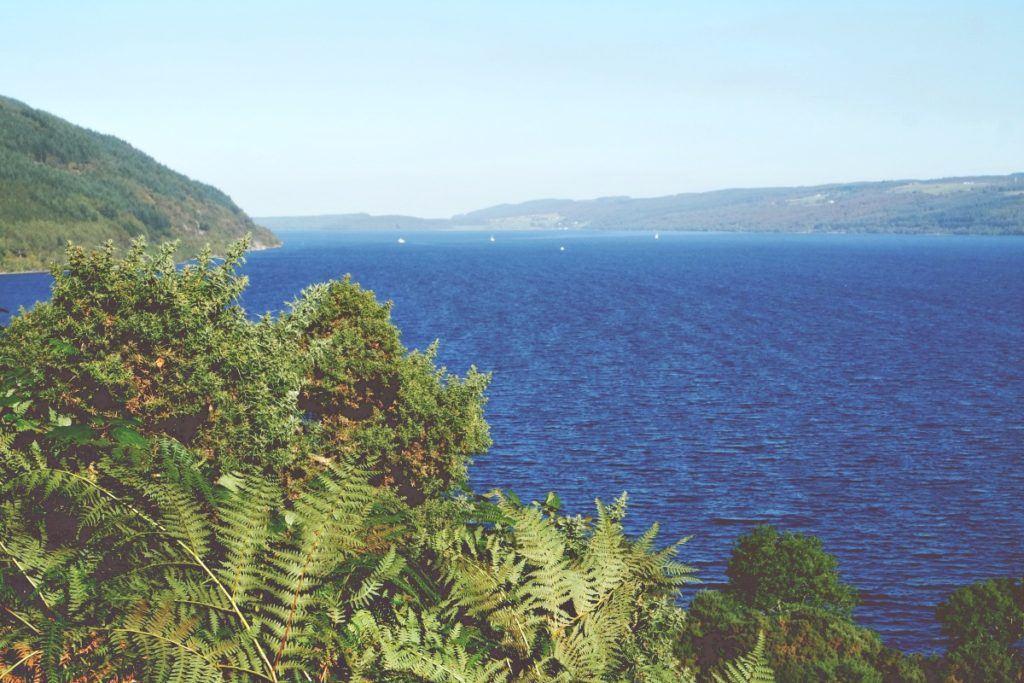 Loch Ness, kilátás a tóra