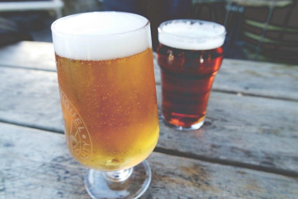 Sört inni Skóciában