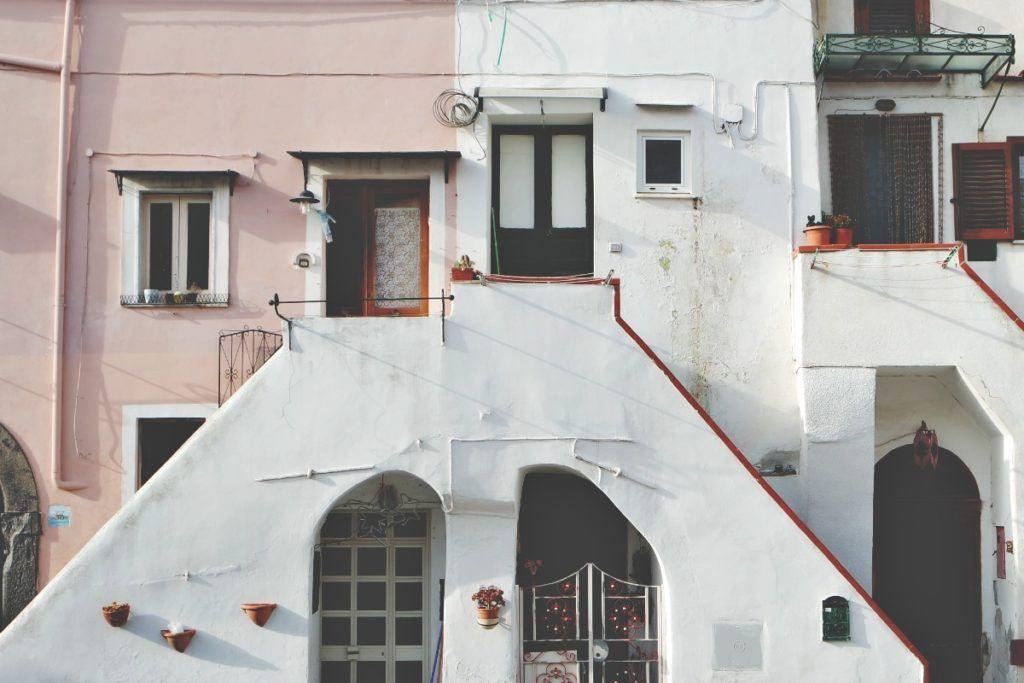 Procida házak
