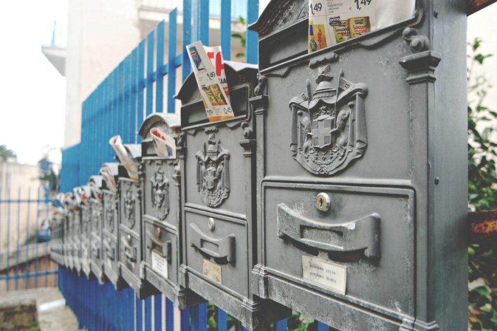 Procida postaládák