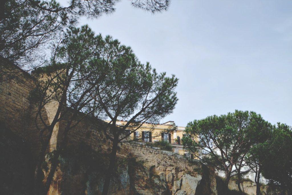 nápoly castel sant'elmo