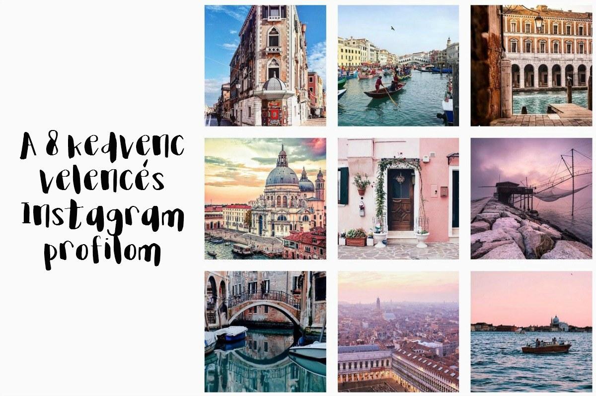 velence instagram profilok