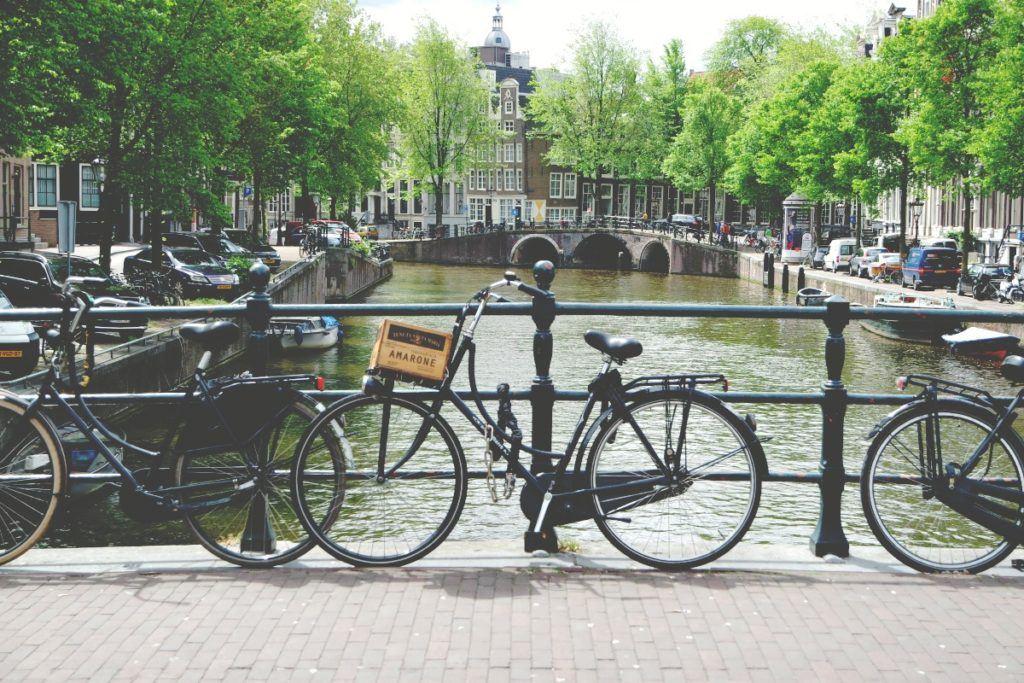 Amszterdam bicikli