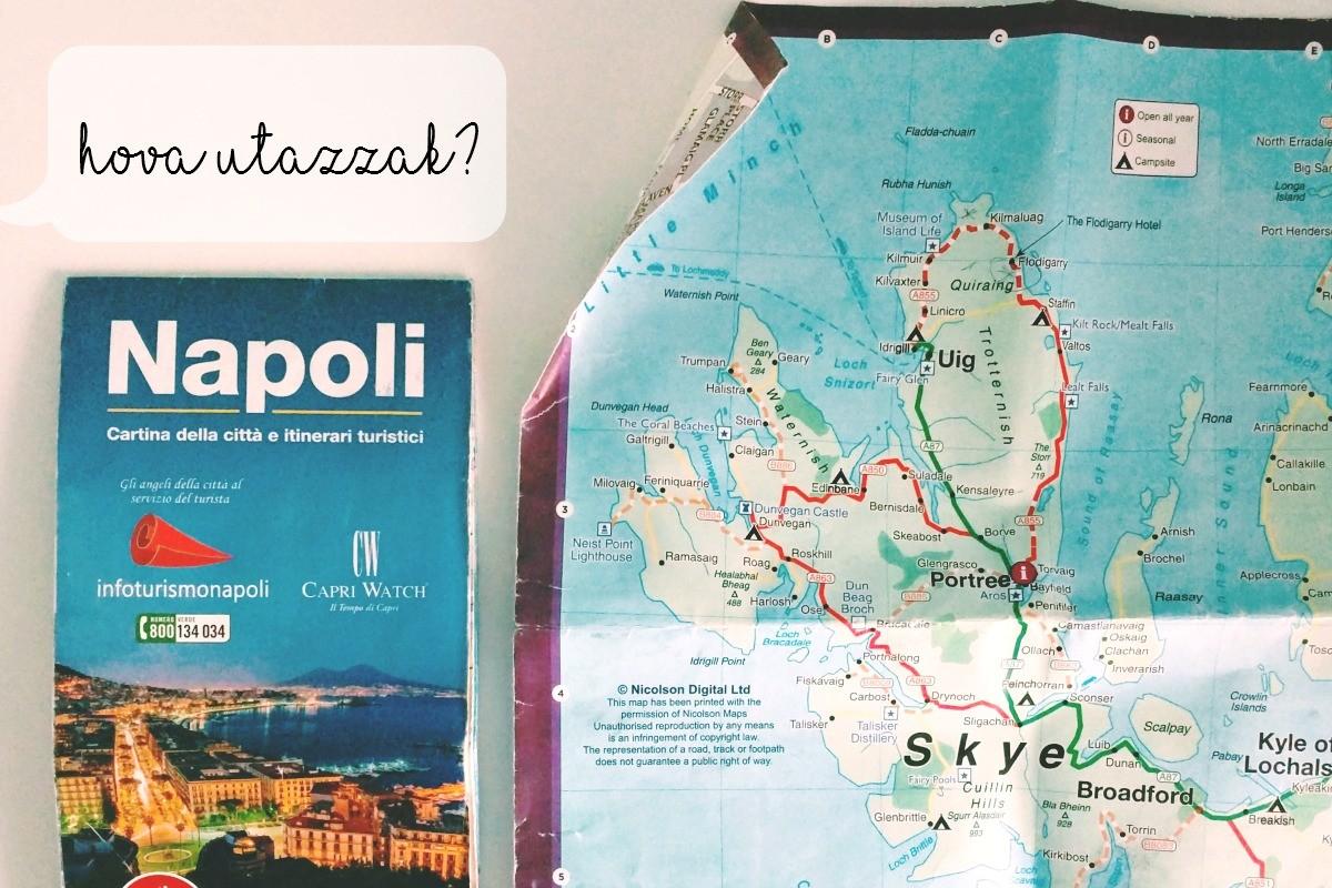 hova utazzak térképek