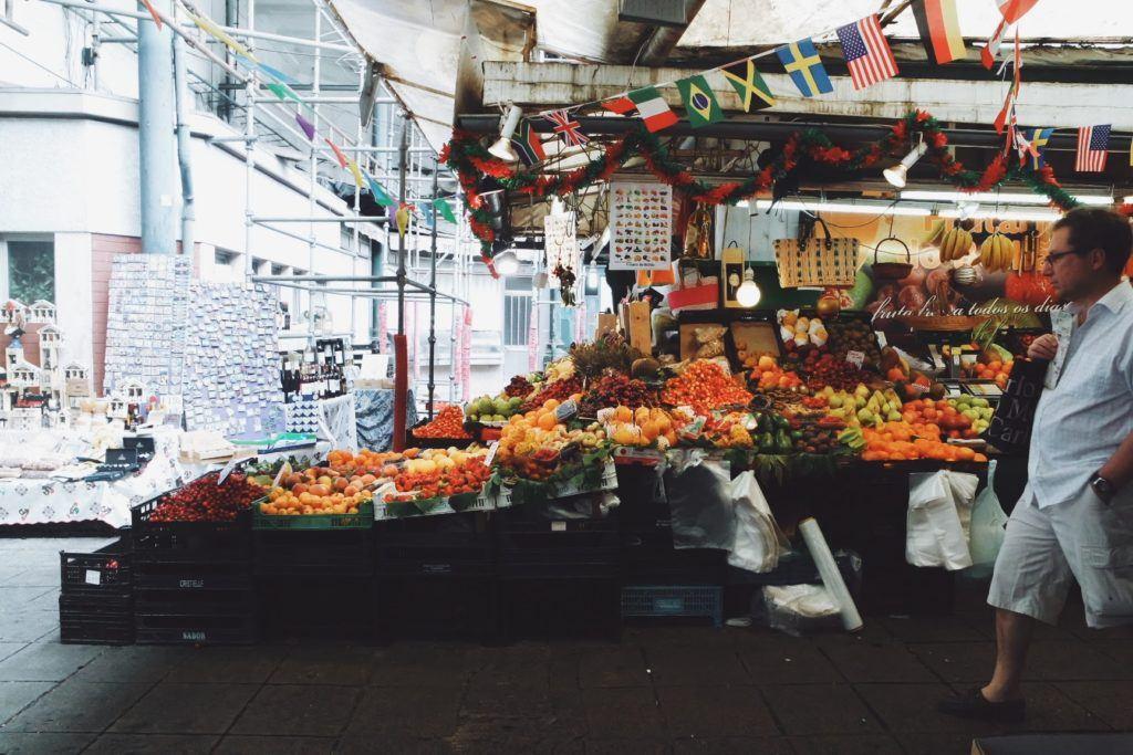 Porto piac Mercato Bolhao