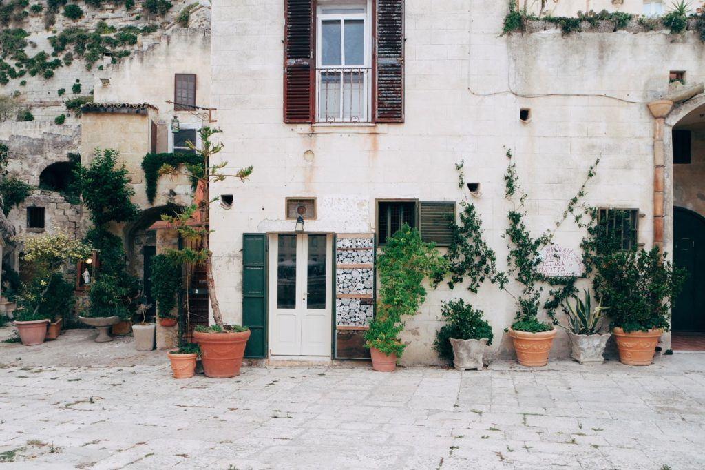 Matera ház