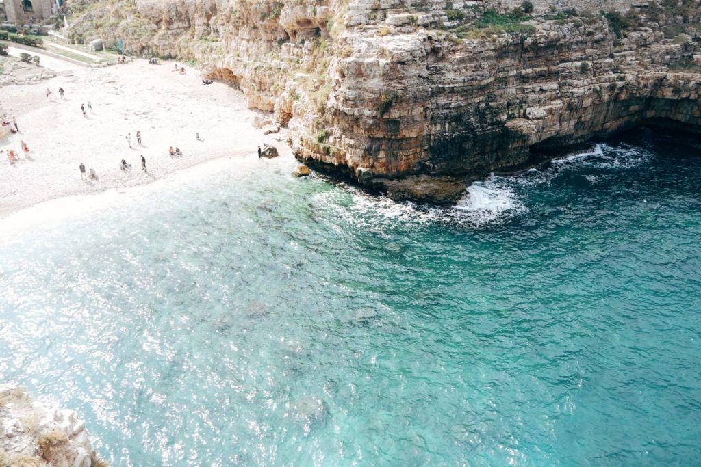 Polignano a Mare strand