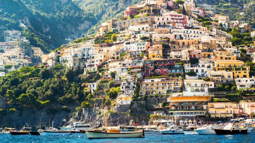 Amalfi part, Positano