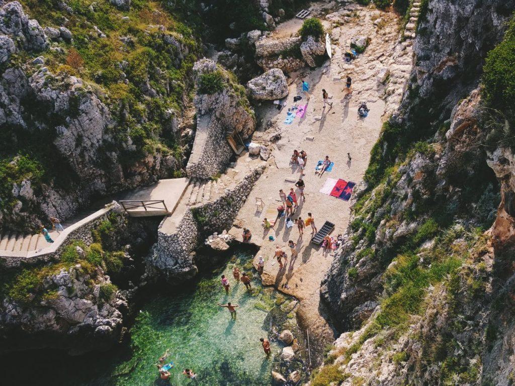 Puglia strand Ciolo