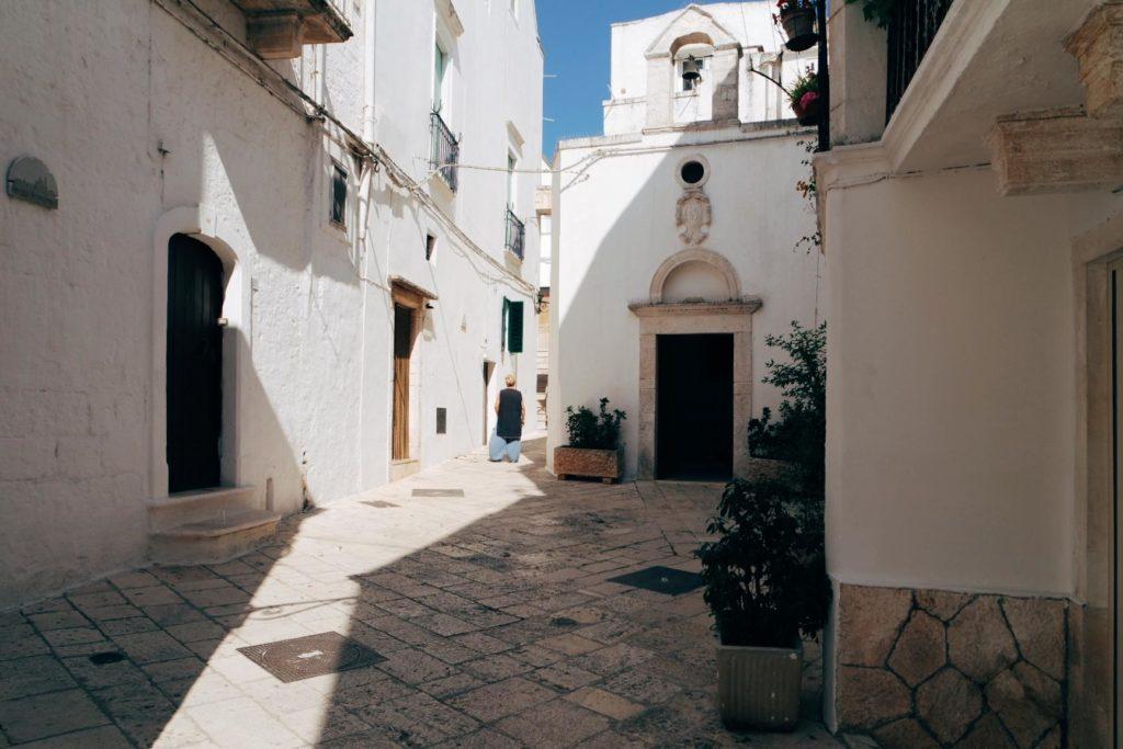 Puglia látnivalók Locorotondo