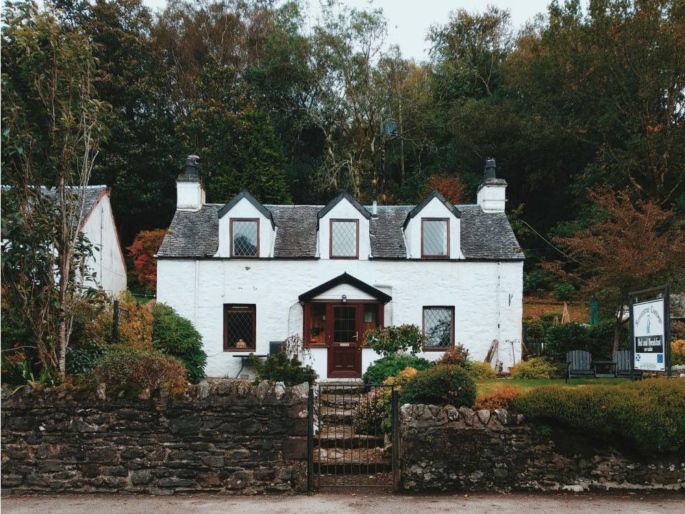 skót felföld szállás útiterv
