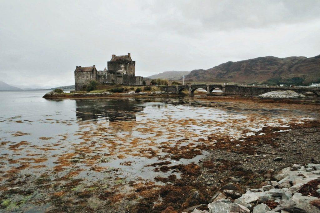 eilean donan skót felföld