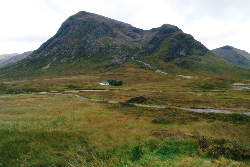 glencoe völgy skót felföld