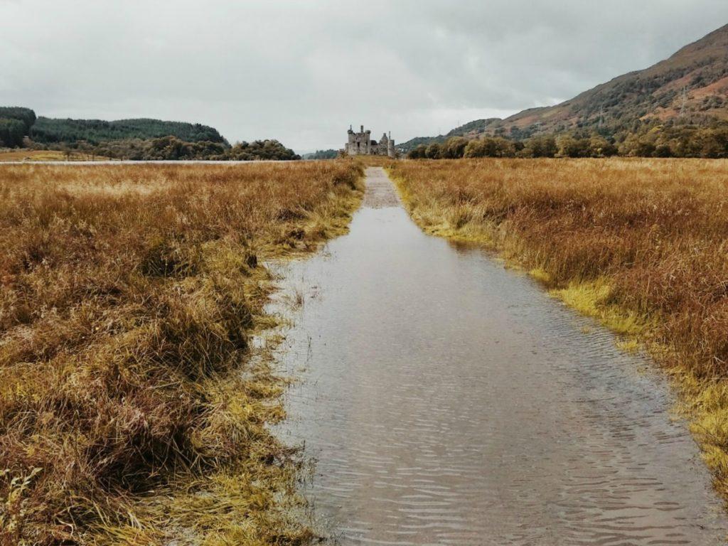 kilchurn vára skót felföld