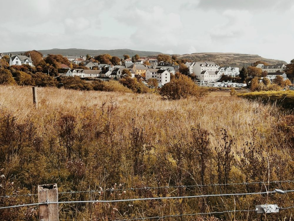 skye portree skót felföld