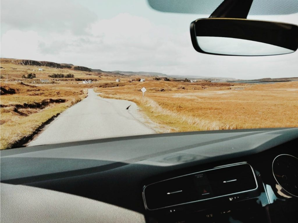 skót felföld útiterv roadtrip