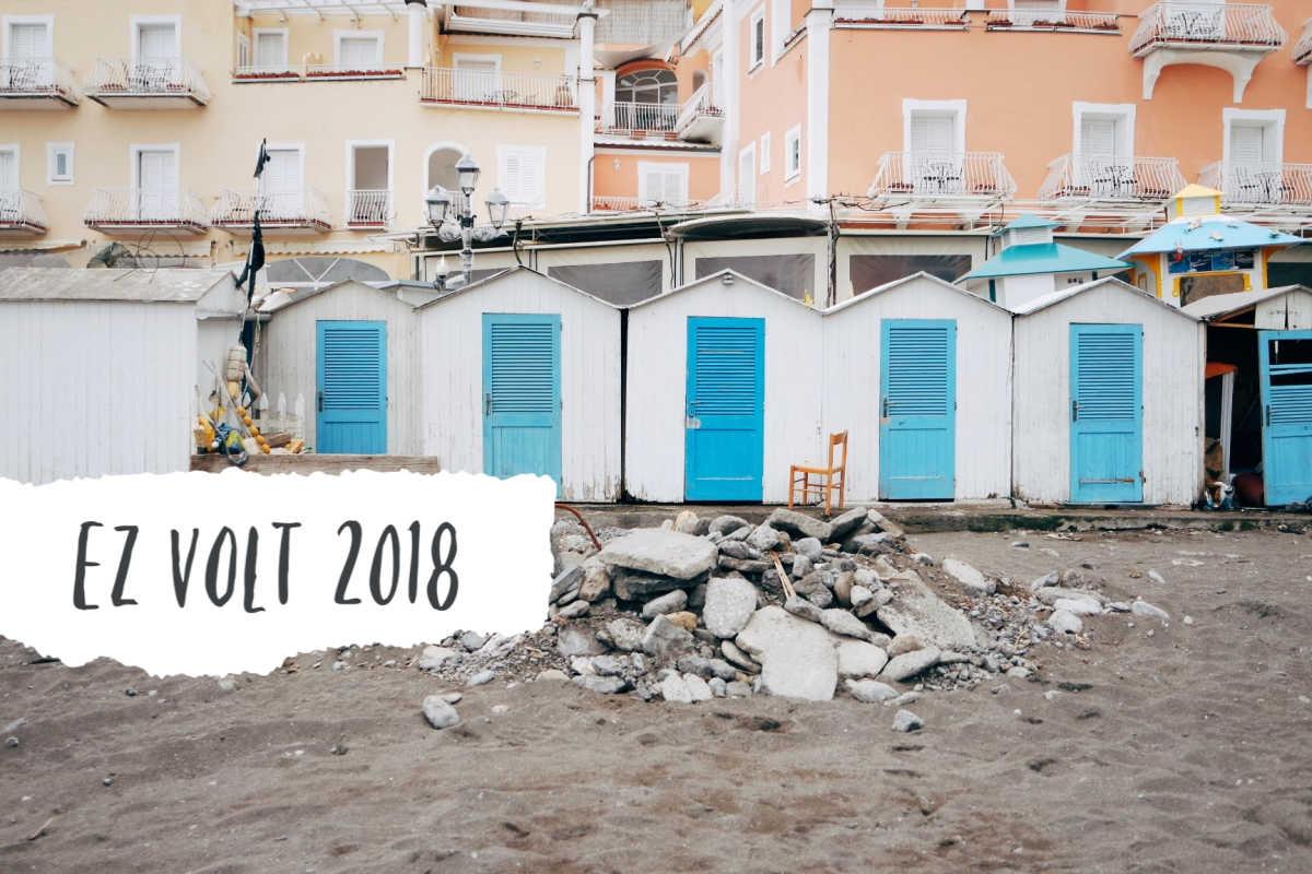 2018 utazas